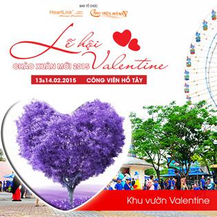 Lễ Hội ValenTine Chào Xuân 2015 + Tặng Quà Tại Công Viên Hồ Tây