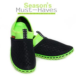 Giày Lười Xanh Neon