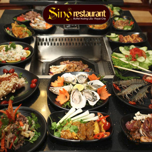 Buffet Lẩu Nướng Singapore NH Sing- Royal City