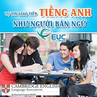 KH Anh Văn Giao Tiếp (12 Buổi) - Cambridge EngLish – Không Bù Tiền