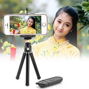 Chân Điện Thoại Có Remote Chụp Hình Cho iPhone, iPod tại Hồ Chí Minh