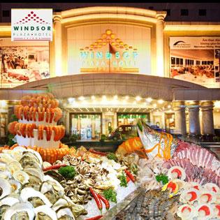 Windsor Plaza Hotel 5* - International Buffet Tối Từ Thứ 2 Đến Thứ 5