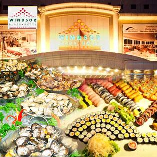 Windsor Plaza Hotel 5* - International Buffet Trưa Từ Thứ 2 Đến Thứ 5