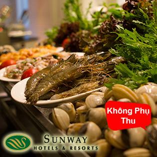 Buffet Trưa/Tối Đẳng Cấp Thứ 7 Tại Nhà Hàng Allante – Khách Sạn Sunway Hà Nội Tiêu Chuẩn 4 Sao