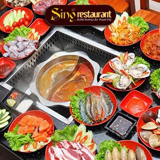 Buffet Lẩu Nướng Singapore NH Sing