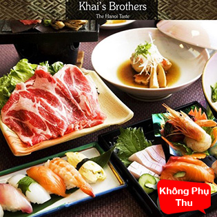 KhaiSilk – Brothers Buffet BBQ Thịt Nướng & SuShi