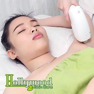 Gói Triệt Lông Nách Tại Hollywood Skin Care (Bảo Hành 2 Năm)