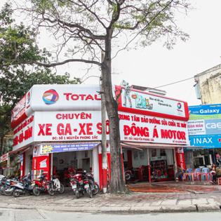 DV Bảo Dưỡng Xe Máy Tại Đông Á Motor Kèm Rửa Xe