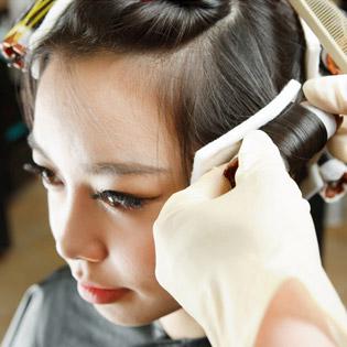 01 Trong 06 DV Tóc - Salon Linh Blue