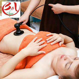 Trọn Gói 5 Lần Giảm Mỡ An Toàn & Massage Thư Giãn - B & Y Spa