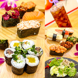1 Trong 2 Combo Món Nhật Tại Shinsen Sushi