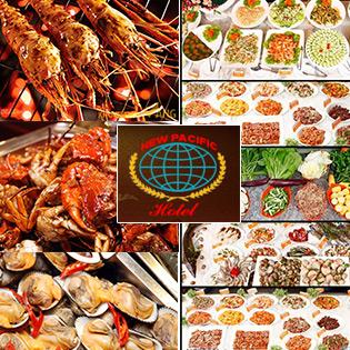 Buffet Tối Lẩu, Nướng, Hải Sản T4 - T6  - Áp Dụng Lễ 2/9 Tại New Pacific Hotel