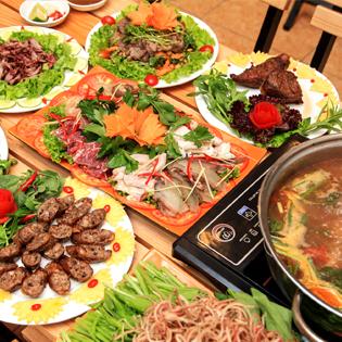 Set Lẩu Nghé Cho 4-6  Người Tại Nhà Hàng Bếp Vua