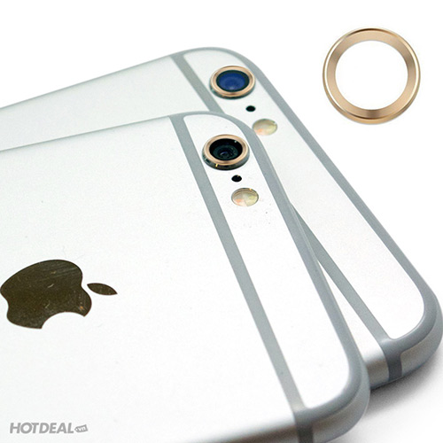 Combo Ốp Bảo Vệ Camera Và Nút Home Cho iPhone 6/6 Plus