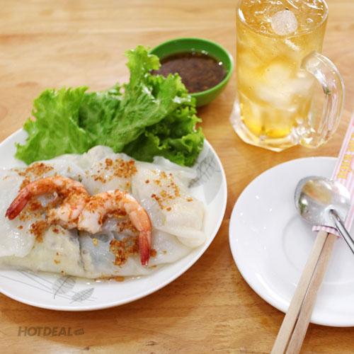 Combo 1 Phần Bánh Cuốn + 1 Trà Đá Tại Bánh Cuốn Kim Kiều