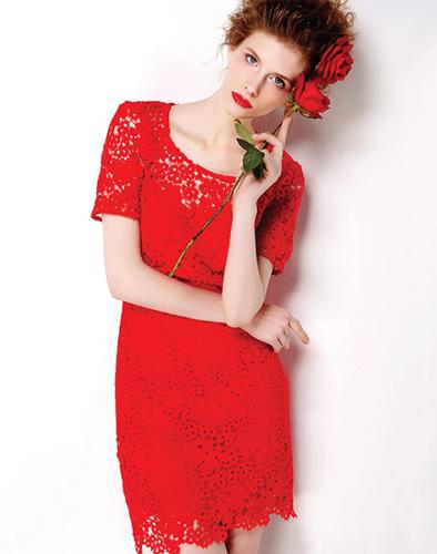 Đầm Ren Hoa Mina