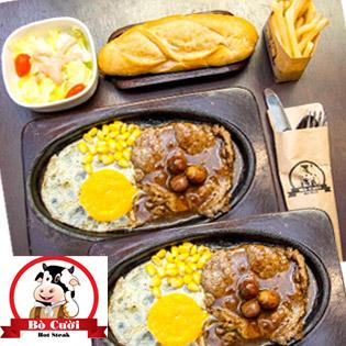 Combo 02 Phần Beefsteak Mỹ Tự Chọn Cho 2 Người Tại Beefsteak Bò Cười