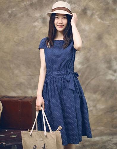 Đầm Jiloka Thanh Lịch