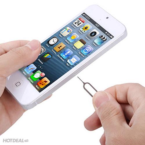 Bộ Chuyển Đổi Sim Nano + Tai Nghe iPhone Lưới Xanh + Cây Lấy Sim
