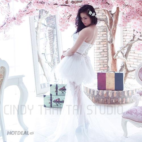 Gói Chụp Ảnh Thử Làm Cô Dâu Tại Studio Cindy Thái Tài