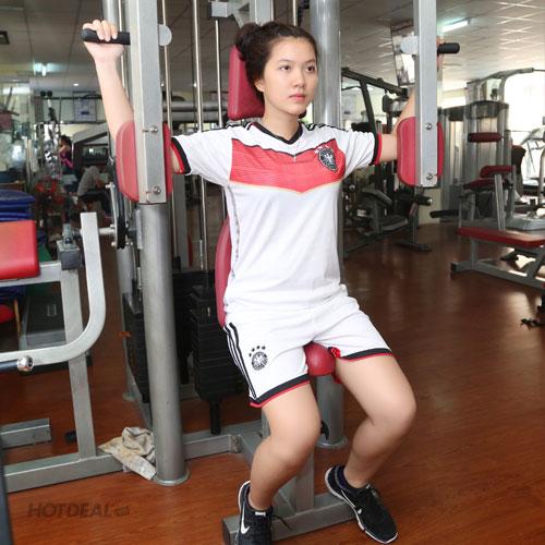 Thẻ Tập Gym 1 Tháng Tại CLB Thể Thao Chi Lăng