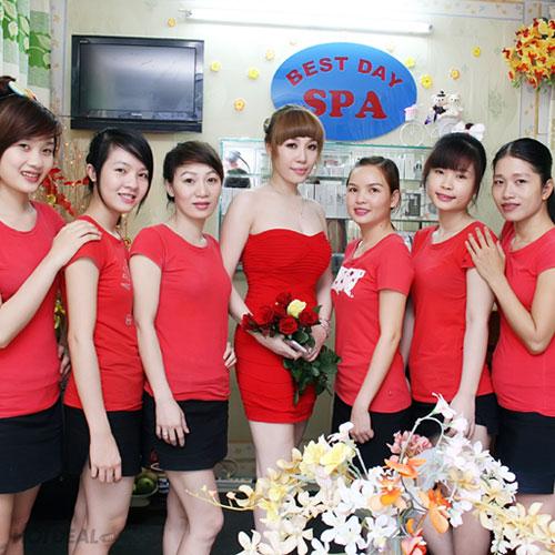 Massage Mặt & Đắp Mặt Nạ Collagen - Best Day Spa/ Rose Spa