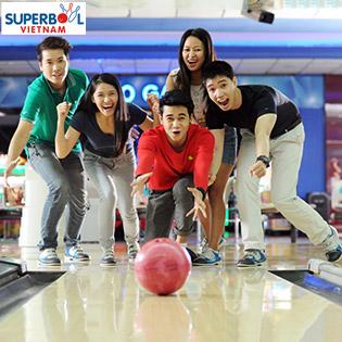 Combo 2 Games Bowling+1 Soft Drink Tại Superbowl Vietnam Tân Sơn Nhất
