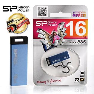 USB Silicon Power Touch T835 Chống Nước 16GB - BH 5 Năm