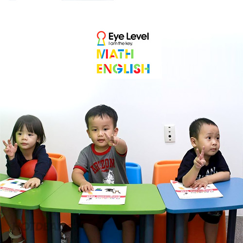 KH 2 Buổi Toán Tư Duy/Tiếng Anh Tại Eye Level – Dành Cho bé 3-13 Tuổi