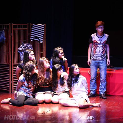 2 Vé Xem Kịch Kinh Dị - Hài – Tình Cảm Tại Tâm Ngọc Home Theatre
