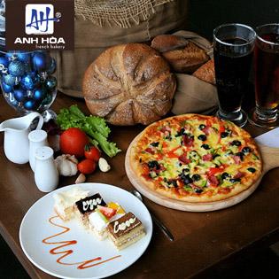 Set Pizza Và Đồ Uống Dành Cho 2 Người Tại Anh Hòa Barkery