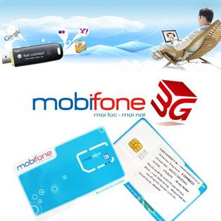 Sim 3G Mobifone - Tặng 2,4GB/ Tháng Liên Tục Trong 12 Tháng