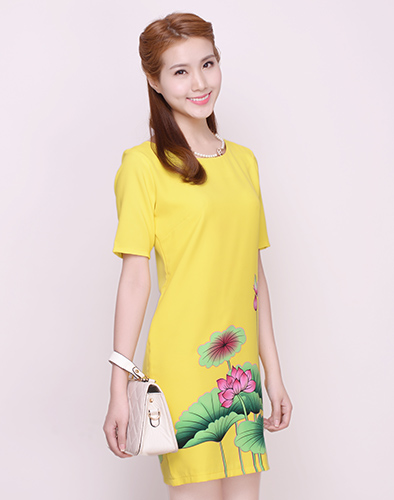 Đầm Hoa Sen Thanh Lịch