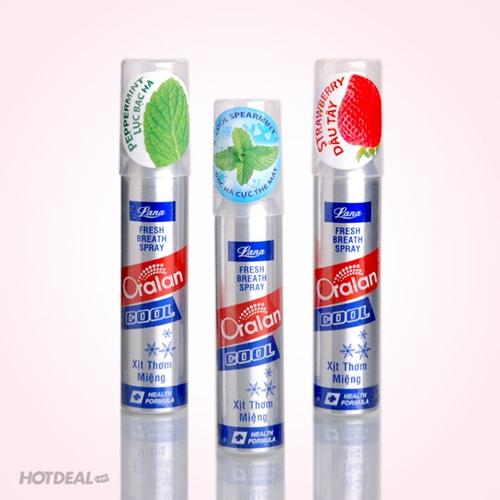 Xịt Thơm Miệng Oralan Cool - 3 Mùi Hương Lựa Chọn