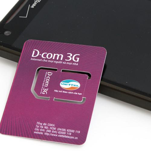 Sim 3G Viettel Khuyến Mại 3GB/ Tháng Liên Tục Trong 12 Tháng