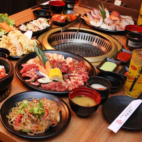 Buffet Hơn 100 Món Nướng, Lẩu, Sashimi Và Sushi Nhật Tokyo Yakiniku (Vincom Bà Triệu)