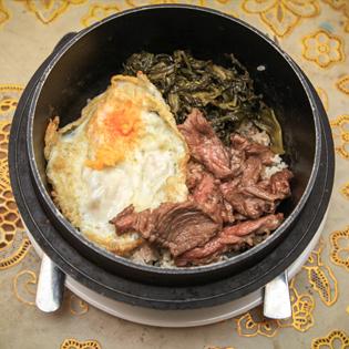 2 Suất Cơm Niêu Bò Trên Chảo Nóng Kèm Salad – NH Phin Minh
