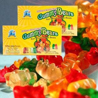 Combo 2 Gói Kẹo Dẻo Gummi Bears Chính Hãng Từ Mỹ (212g/ Gói)
