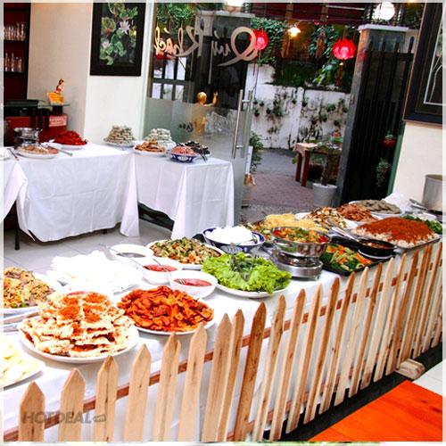 Buffet Tối 35 Món Chay Đặc Sắc Nhà Hàng Chay Sivali