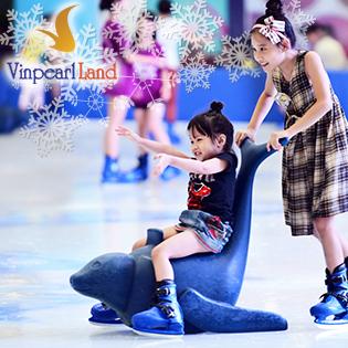 Vé Trượt Băng Cho Trẻ Em Vinpearlland Ice Rink