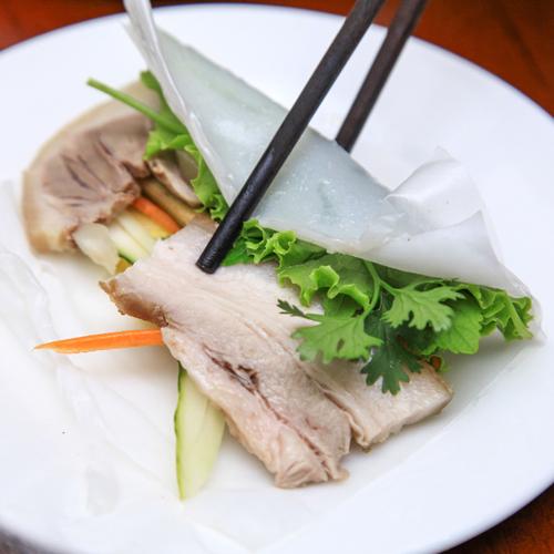 Combo Bún Đậu Mắm Tôm Đầy Đặn+ Bánh Tráng Cuốn Thịt Heo 2 Trà Sữa