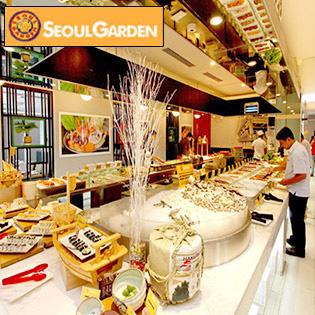 Buffet Trưa Hải Sản Lẩu Và Nướng Không Khói – Nhà Hàng Seoul Garden