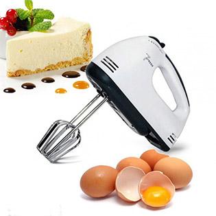 Máy Đánh Trứng, Bột Cầm Tay 7 Tốc Độ BH 12 Tháng