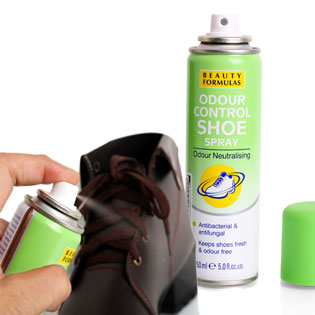 Xịt Khử Mùi Giày Beauty Formulas 150ml - Nhập Khẩu Anh Quốc