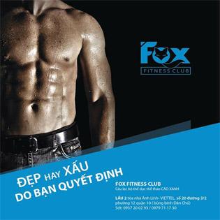 3 Tháng Tập Gym, Kick-Boxing Không Giới Hạn Thời Gian - Fox Fitness Club