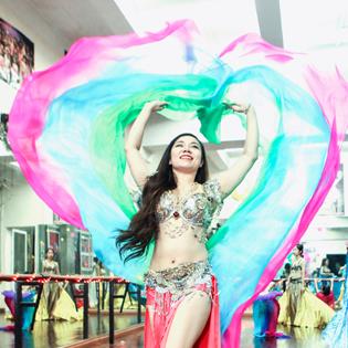 KH Belly Dance, Bollywood, Fusion Dance, Stick Dance Tại Sadie Club