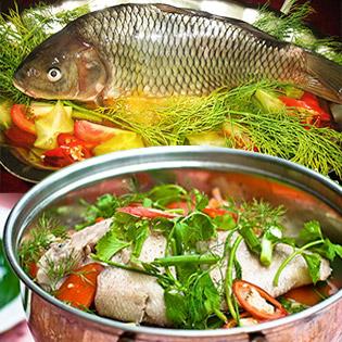 Lẩu Riêu Cá Chép Nguyên Con 1.2kg Cho 4 Người Tại Nhà Hàng Sài Gòn Nhỏ