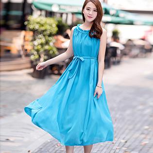 Váy Maxi Đi Biển Điệu Đà
