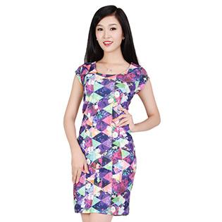 Đầm Bigsize Họa Tiết