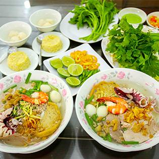 2 Hủ Tíu Mực/ Nam Vang + 2 Xôi Vò Cơm Rượu – Top Ngon Nhất Sài Thành